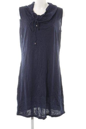 Sheego Shirtkleid dunkelblau Casual-Look