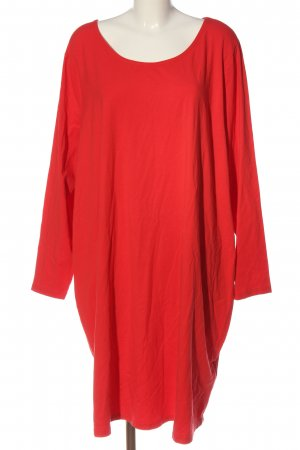 Sheego Shirt Dress red casual look