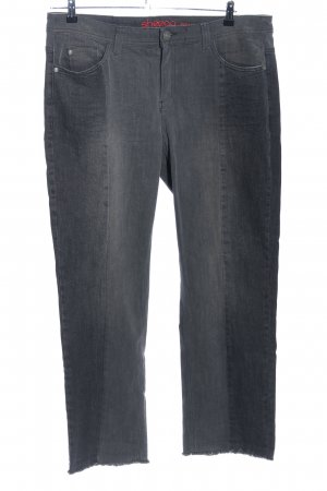 Sheego Skinny Jeans hellgrau Casual-Look