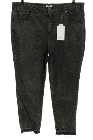Sheego Slim Jeans light grey flecked casual look