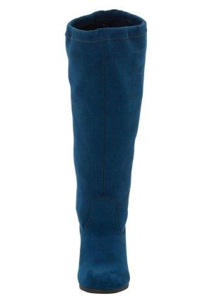 Sheego Botas elásticas azul