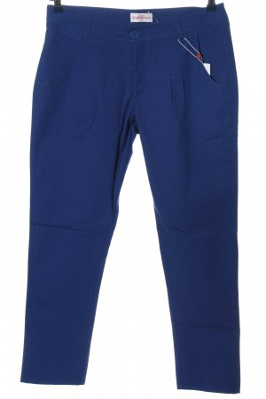 Sheego Stoffhose blau Casual-Look