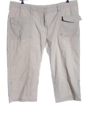 Sheego Pantalone jersey bianco sporco stile casual