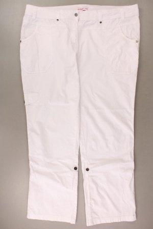 Sheego Jeans a gamba dritta bianco sporco