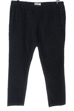 Sheego Jeans a gamba dritta blu elegante