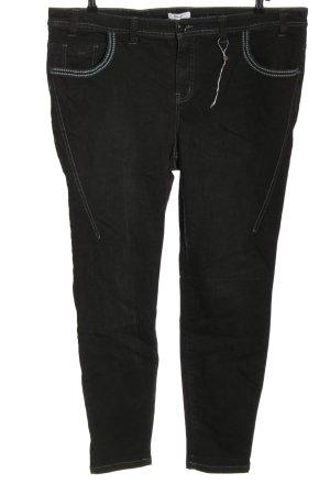 Sheego Stretch Jeans schwarz Casual-Look