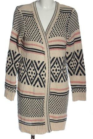 Sheego Cardigan in maglia stampa integrale stile casual