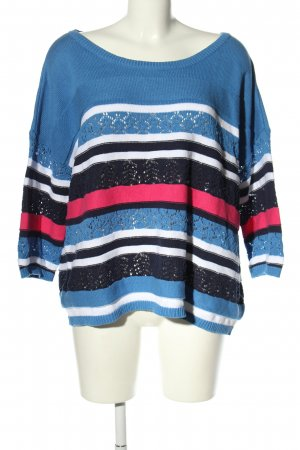 Sheego Strickpullover Streifenmuster Casual-Look