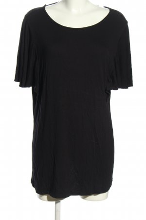 Sheego T-Shirt schwarz Casual-Look