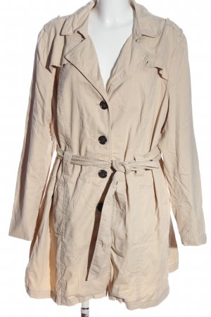 Sheego Trench bianco sporco stile casual