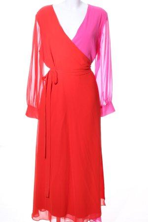Sheego Wickelkleid rot-pink Elegant