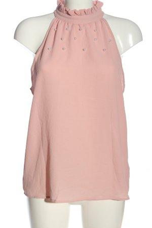 SheIn ärmellose Bluse pink Casual-Look