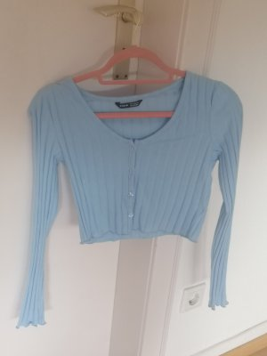 SheIn Veste en tricot bleu azur