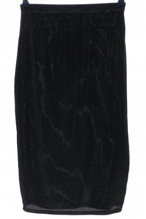 SheIn Stretch Skirt black casual look