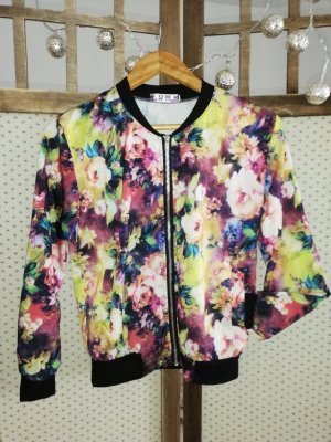 SheIn Blouse Jacket multicolored