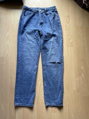 SheIn Jeans boyfriend multicolore