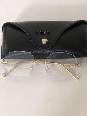 SheIn Glasses white-azure