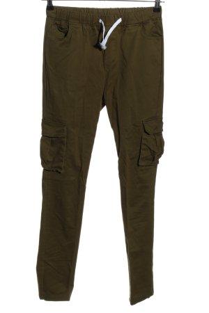 SheIn Pantalon cargo kaki style décontracté