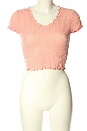 SheIn Cropped Shirt nude Casual-Look