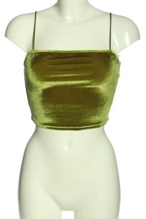 SheIn Cropped Top grün Elegant
