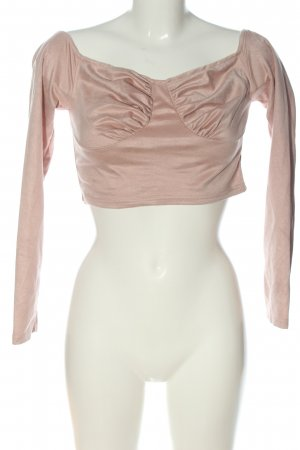 SheIn Cropped Top pink Casual-Look