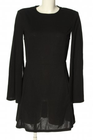SheIn Vestido cut out negro look casual