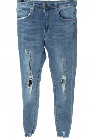 SheIn High Waist Jeans blue casual look