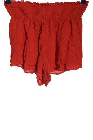 SheIn High-Waist-Shorts rot Casual-Look