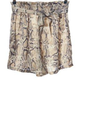 SheIn High-Waist-Shorts Animalmuster Casual-Look