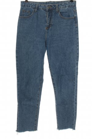 SheIn Slim Jeans blau Casual-Look
