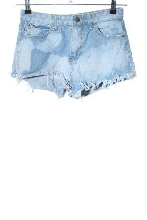 SheIn Jeansshorts blau Casual-Look