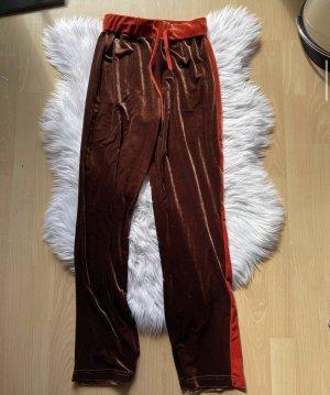 SheIn Pantalon de jogging cognac-brun foncé