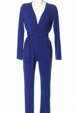 SheIn Jumpsuit blau Business-Look