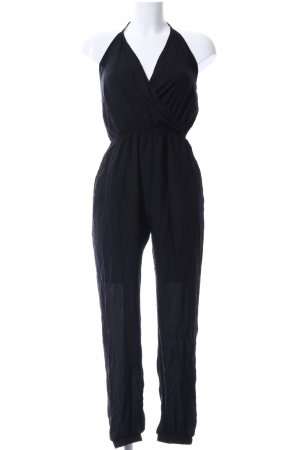 SheIn Jumpsuit schwarz Business-Look