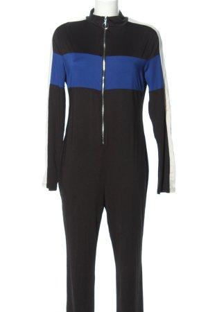 SheIn Jumpsuit Streifenmuster Casual-Look