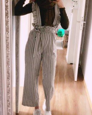 SHEIN Jumpsuit (grau/weiß)