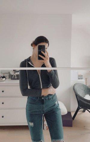 SheIn Hooded Sweatshirt grey