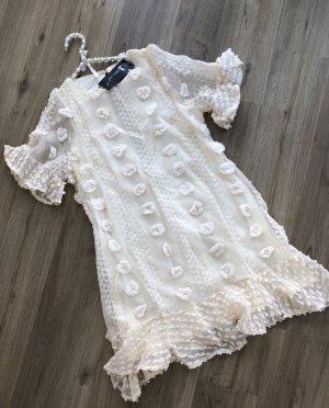 Sheinside Midi Dress cream