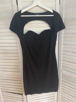 Shein Kleid Schwarz Kleines Schwarzes Rückenausschnitt Gr. L