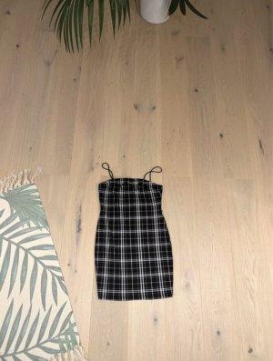Shein Kleid schwarz weiß