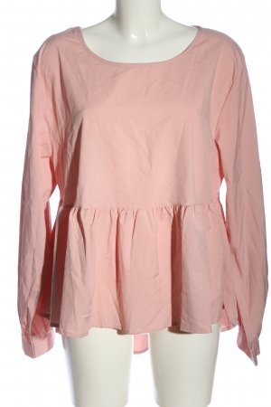 SheIn Langarm-Bluse pink Casual-Look