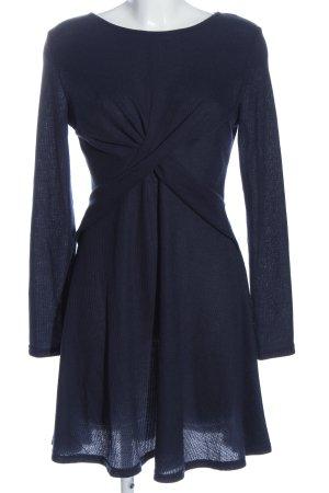 SheIn Langarmkleid blau Casual-Look