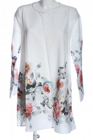 SheIn Langarmkleid Blumenmuster Business-Look