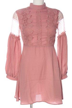 SheIn Langarmkleid pink Casual-Look