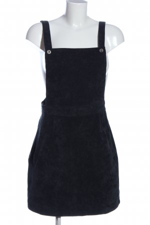 SheIn Pinafore Overall Skirt black casual look