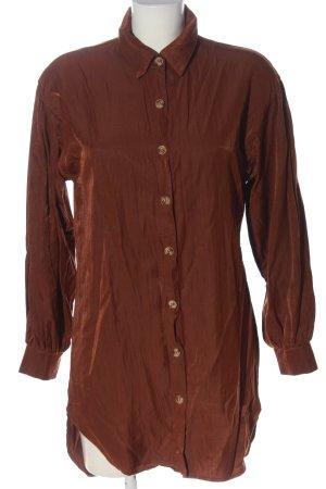 SheIn Long-Bluse braun Casual-Look