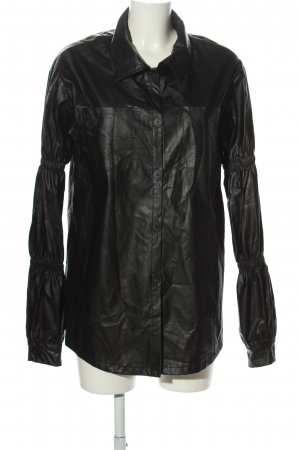 SheIn Long Blouse black casual look