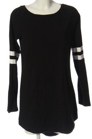 SheIn Minikleid schwarz-weiß Casual-Look