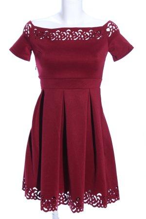 SheIn Minikleid rot Elegant