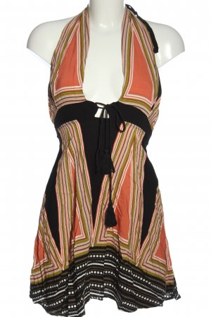 SheIn Halter Dress spot pattern casual look